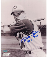 Pete Rose ROY 1963 Signed 8x10 Photo Authenticated Mounted Cincinnati Reds - $59.39