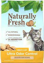 BEST DEAL Naturally Fresh Walnut-Based Multi-Cat Quick-Clumping Cat Litt... - $26.68