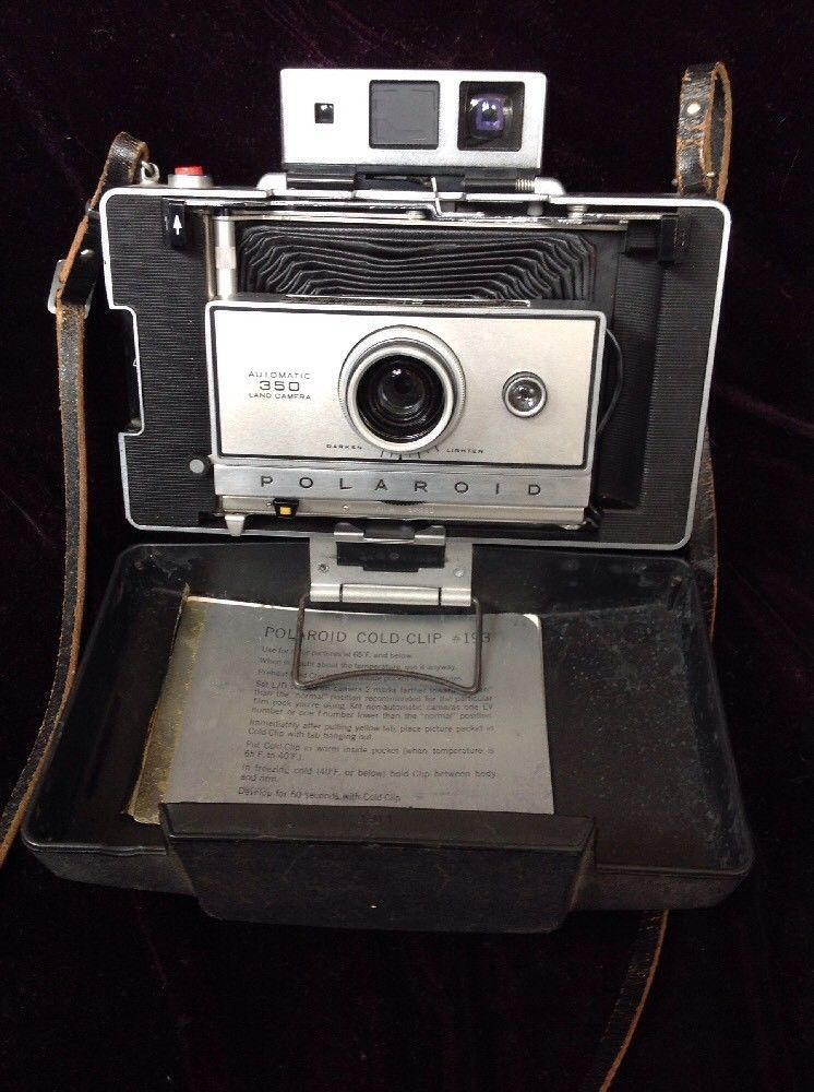 Vintage Polaroid Automatic 350 Land Camera