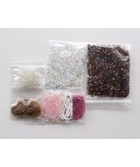 Copper Color Twisted Tube Glass Bugle Seed Bead Lot Spacers Jewelry Supp... - $7.50