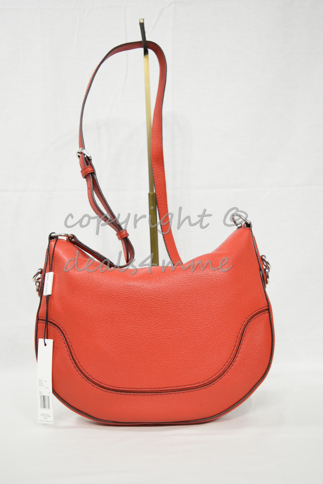 af80b0c27725 MARC By Marc Jacobs M0012132 Small Drifter Leather Shoulder Ctossbody Bag  Lava