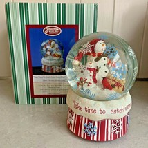 The San Francisco Music Box Company Take Time To Catch Some Snowflakes S... - $49.95