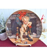 Christmas Morning Collector Plate Leyendecker Saturday Evening Post 1975 - $28.00