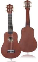 21' Coffee 4-String Acoustic Ukulele Guitar - $30.51