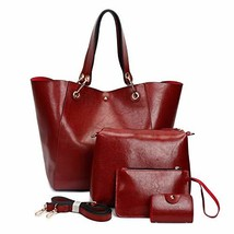 Purses and Handbags Fashion Coach Bags Large Shoulder Bags for Women Red-a - $27.19