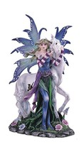 StealStreet Blue Fairy with Unicorn And Butterfly Collectible Figurine S... - €41,48 EUR