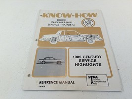 1982 Buick Century Service Highlights Reference Manual KH-43R Know-How - $19.99