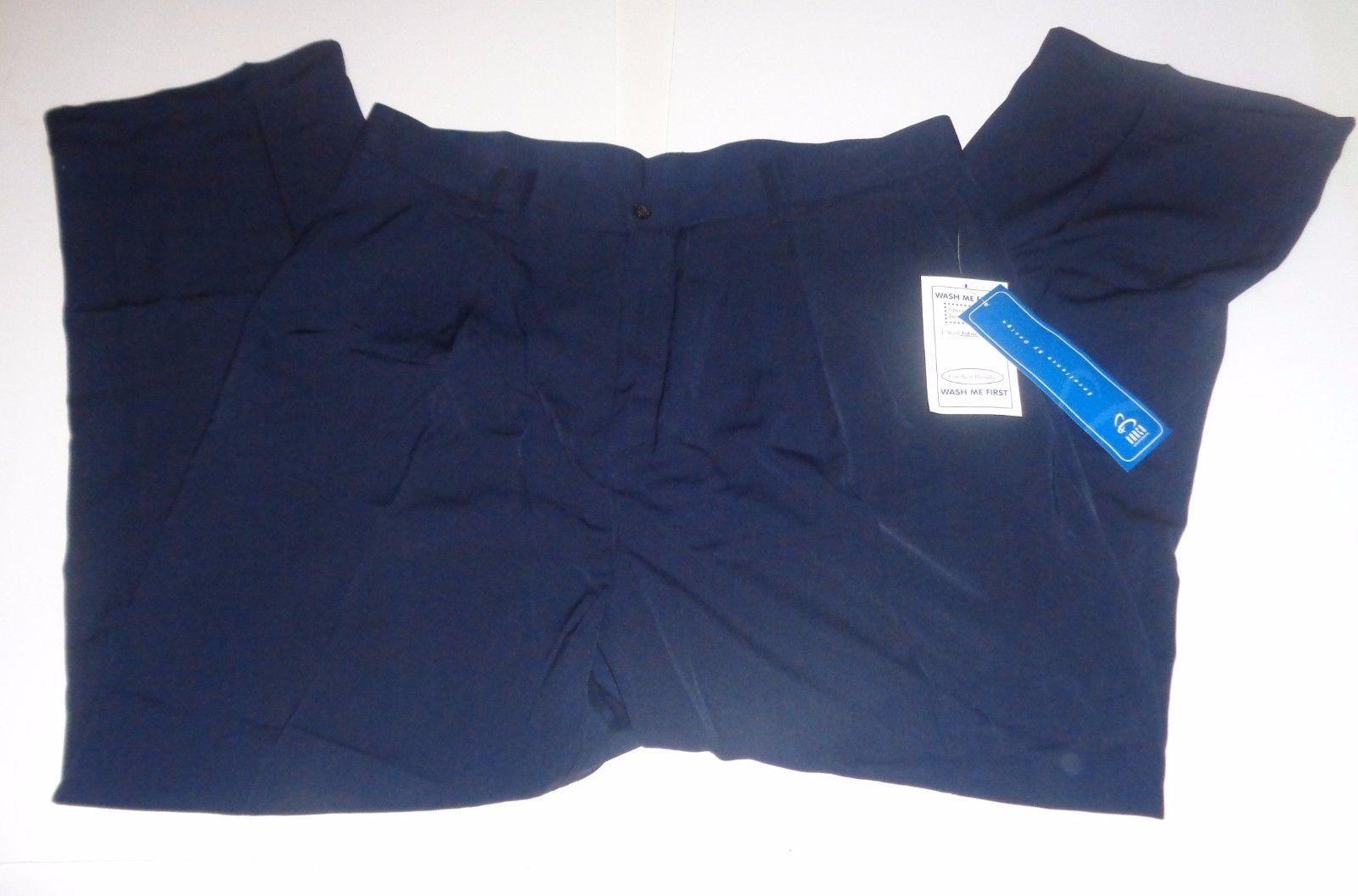Barco Men's Uniform Navy Blue Work Slacks Pants NWT Sz 40