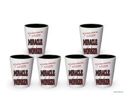 I'm a Policeman shot glass- Not a Miracle Worker -Policeman Gifts (6) - €24,95 EUR