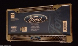 NEW Chroma Graphics Ford Chrome Auto Car Truck License Plate Tag Frame 6419 - $26.46