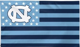 North Carolina Tar Heels 3'x5' Stars Stripes Banner Flag  - $19.99