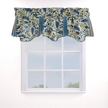 "Waverly Valances for Windows - Imperial Dress 50"" x 18"" Short Curtain Va... - $41.99"