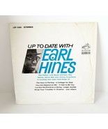 EARL HINES: Up To Date With US RCA Mono Jazz Orig Vinyl LP NM- Wax - £7.51 GBP