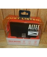 Altec Lansing IMW120-red Solo Motion Portable Bluetooth Speakers NEW - $19.58
