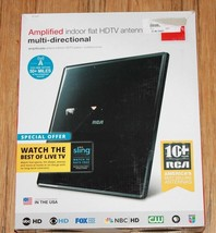 RCA CANT1650F Flat Digital Amplified Indoor TV Antenna (RCA ANT1650F) - $20.18