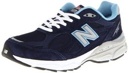 New Balance Women's W990 Heritage Running Shoe,Navy,5 B US - $168.30