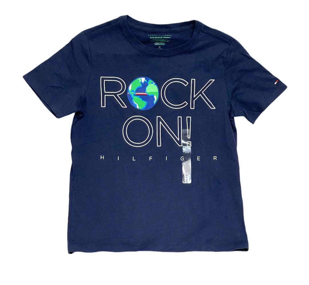 Tommy Hilfiger Kids T-Shirt Boys Dark Blue-M (8-10) - $29.99