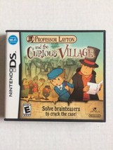 Professor Layton and the Curious Village (Nintendo DS, 2008) TESTED CIB ... - $11.87