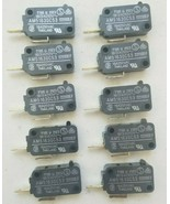 AM51630C53 Microswitch 16 Amp 250 Volt,  Microwave Door, Plus.... LOT OF 10 - $5.87