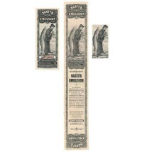 1890 Scott's Emulsion, ABNCo Specimen Label, full label, trimmed proof, ... - $129.00
