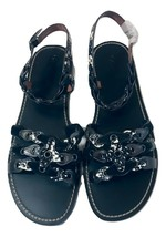 Coach CLL MXM Gladiator Leather Sandals Size 11 - £114.32 GBP