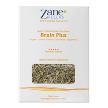 ZANE HELLAS Finest Herbal Teas. Brain Plus. Brain Booster. Ideal for Bra... - $18.99