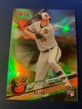 2017 Bowman's Best Green Refractor /99 Trey Mancini #47 Rookie - $6.93