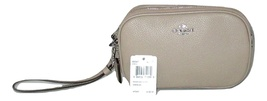Coach 65547 Pebbled Leather Cross-Body, Clutch Messenger Shoulder Bag $1... - $89.99