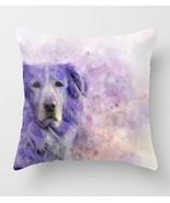 Throw Pillow Case Cushion Cover Made USA Dog 140 Golden Retriever purple... - $29.99+