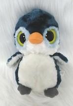 "8"" Aurora Owl YooHoo & Friends Blue White w Sound Plush Stuffed Toy B283 - $6.00"