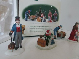 DEPT 56 58457 MEETING THE FAMILY AT THE RAILROAD STATION DICKENS ACCESSO... - $15.63