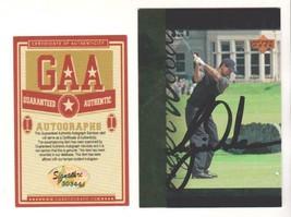 Tiger Woods Autographed Signed 1994 Upper Deck Tiger's Tale Card # TT26 ... - $98.99