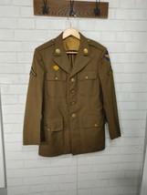 Original WW2 US Army Air Corps Enlisted Uniform Jacket I'd Conklin - $79.95