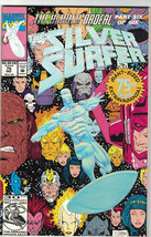 The Silver Surfer Comic Book #75 Marvel 1992, Near Mint - $4.00