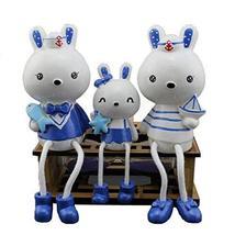 PANDA SUPERSTORE Creative and Unique Dolls/Toy Set Figure Decoration, Miffy Fami