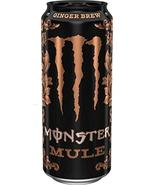 Monster Mule Ginger Brew Energy Drink (4) - $24.74
