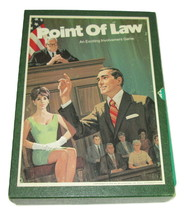 1972 Vintage 3M Bookshelf Game Point Of Law  - $9.89