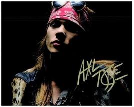 AXL ROSE  Authentic Autographed Signed  Photo w/COA - 27158 - $105.00