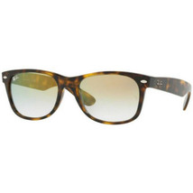 Ray Ban Wayfarer Flash Sunglasses RB2132 910/Y0 52MM Tortoise /Gold Grad... - $60.39