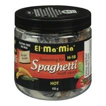 3 Pack El Ma Mia Seasoning for Spaghetti HOT Meat Sauce 110g FRESH CANADA - $24.70