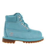 Timberland 6 Inch Premium Toddler Boots Blue tb0a1kro - $84.95