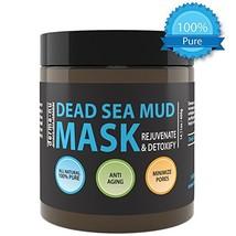 Natural Dead Sea Mud Mask - Face and Body - Organic Minerals - Rejuvenat... - $24.27