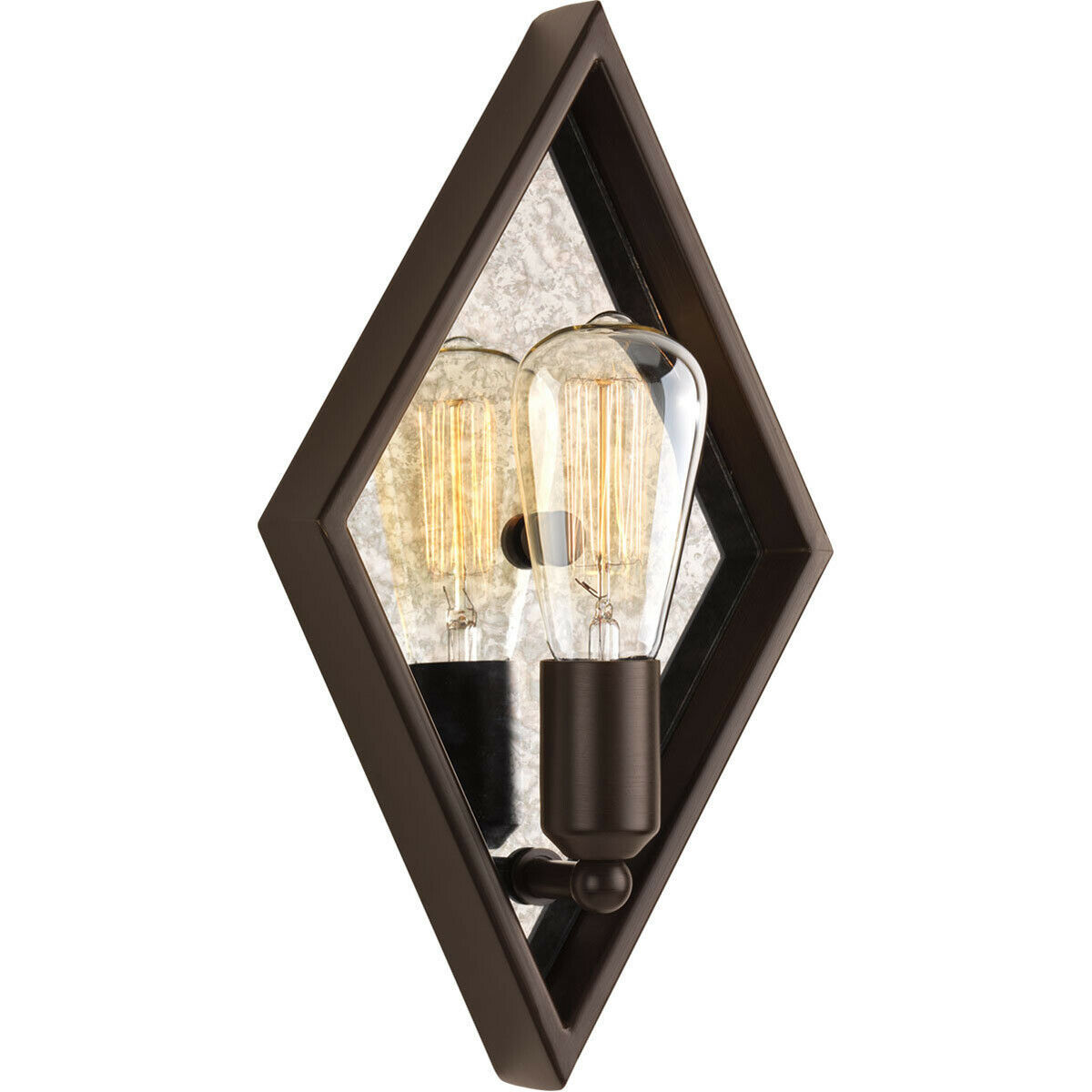 "Progress Lighting P710022-020 Formes 1 Light 8"" Wall Sconce in Antique Bronze - $17.77"