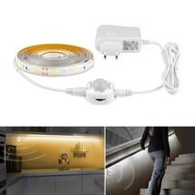 110V 220V to 12V LED Strip Light + PIR Motion Sensor Detector +2A US EU ... - €15,94 EUR