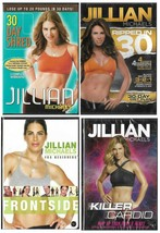 Jillian Michaels Lot of 4 DVDs Killer Cardio Ripped in 30 Frontside Shred - $32.94