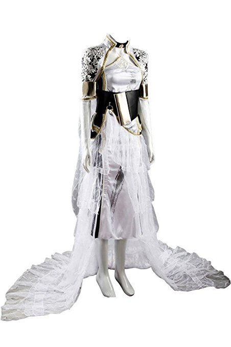 Final Fantasy XV 15 Costume Lunafreya Nox Fleuret Dress