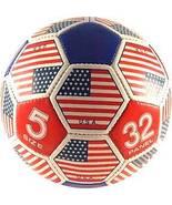 Size 5 USA Flag Panel Soccer Ball - $22.99