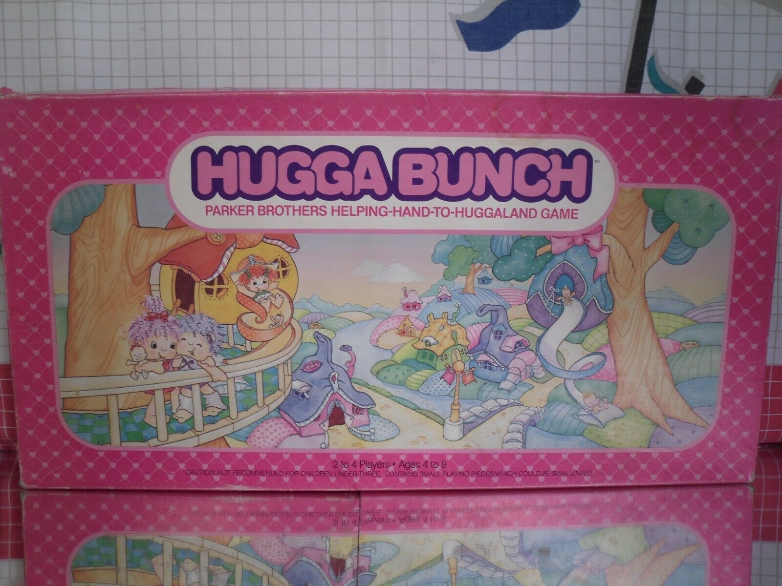 Hugga Bunch Board Game by Parker Brothers 1980s