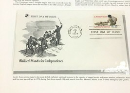 1977 Wheelwright First Day Cover Readers Digest FDC Collectible Worker - $9.84