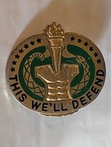 US Military Drill Instructor Insignia Pin - This We'll Defend - $10.00